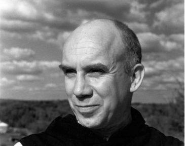 photo of Thomas Merton outdoors